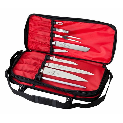 Mercer Cutlery Innovations for Chefs Double Zip Knife Case