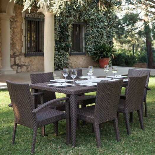 Hospitality Rattan Soho 7 Piece Dining Set