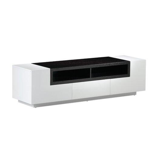j m furniture 65 tv stand allmodern. Black Bedroom Furniture Sets. Home Design Ideas