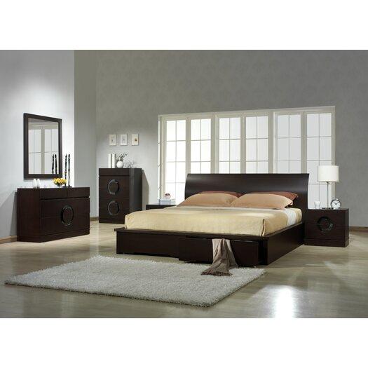 Zen Sleigh Bed