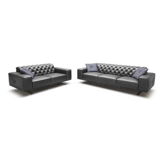 Othello Italian Leather Sofa