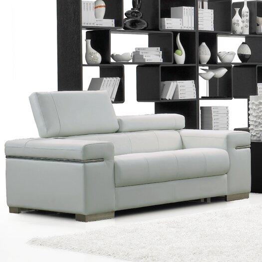 White Living Room Loveseat AllModern