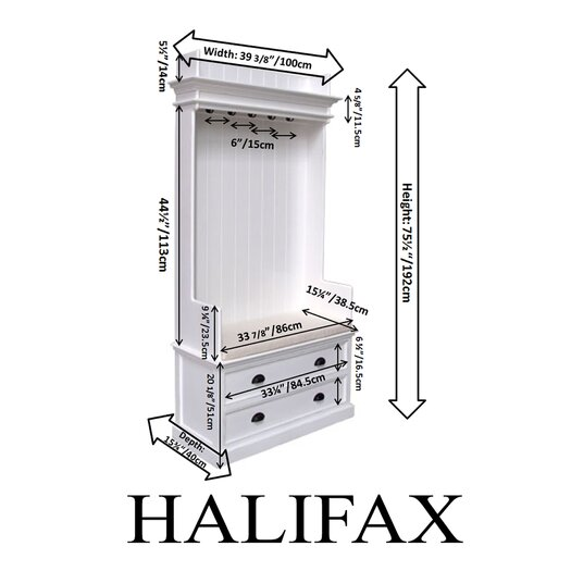 Infinita Corporation Halifax Hall Tree