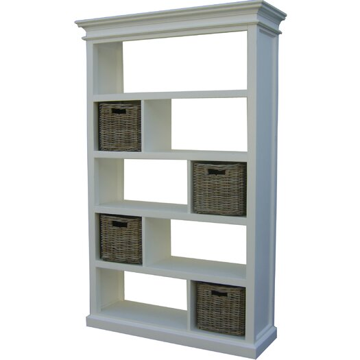 "Infinita Corporation Halifax Open 74.75"" Bookcase"