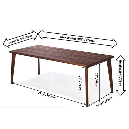 Infinita Corporation Artisan Edikus Dining Table