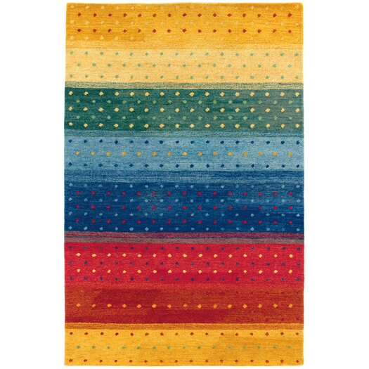 Couristan Oasis Rainbow Striped Area Rug