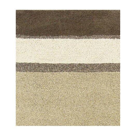 Couristan Super Indo-Natural Retro Linen Beige Stripe Area Rug