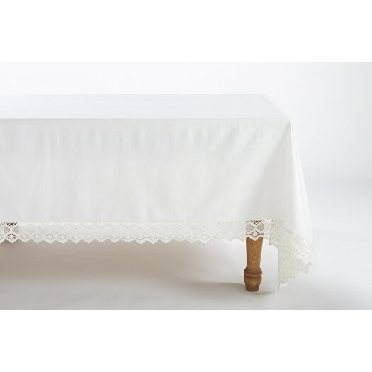 Coyuchi Grand Lace Tablecloth