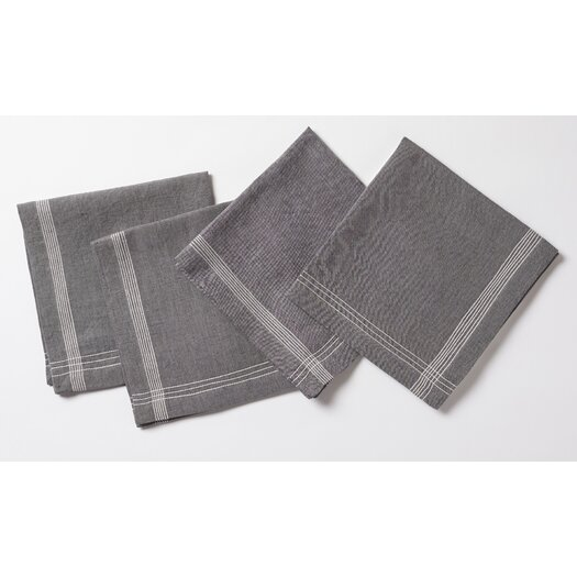 Coyuchi Simple Stitch Chambray Napkin
