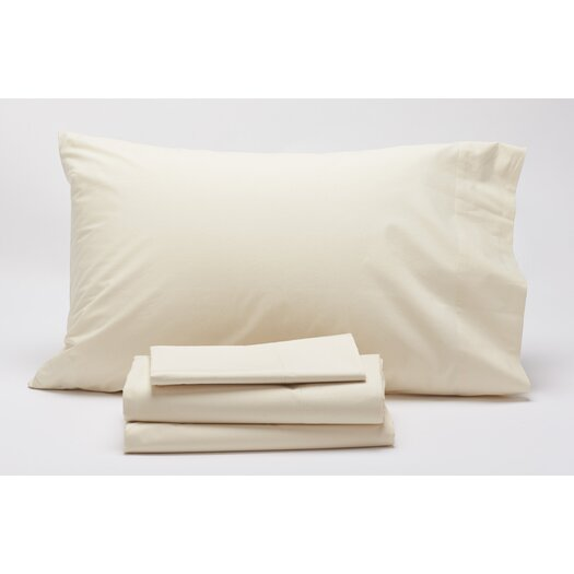 Coyuchi 300 Percale 300 Thread Count 3 Piece Sheet Set