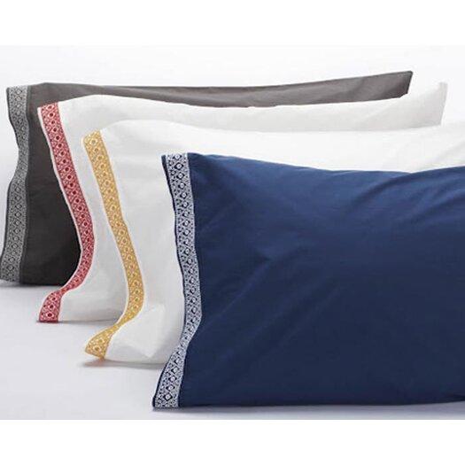 Coyuchi Henna 300 Thread Count Percale Pillowcase