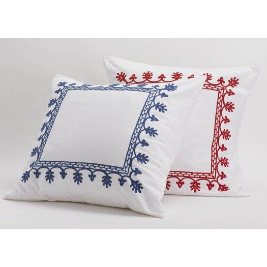 Coyuchi Aari Embroidered Sham