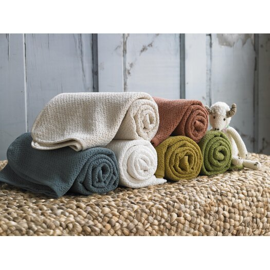 Coyuchi Honeycomb Blanket Baby