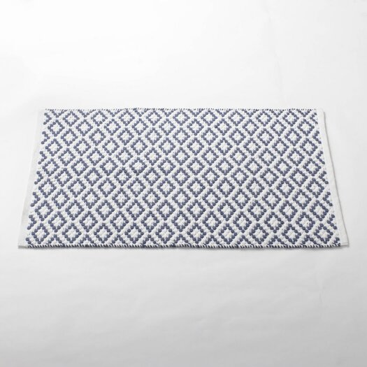 Coyuchi Diamond Pebble Bath Rug