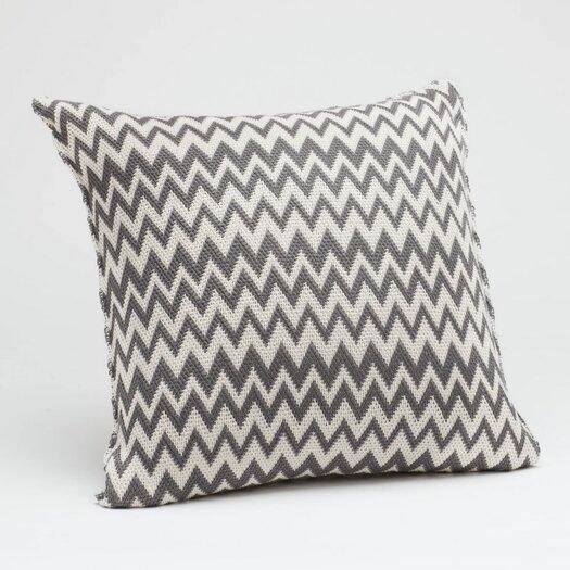 Coyuchi Zigzag Decorative Pillow