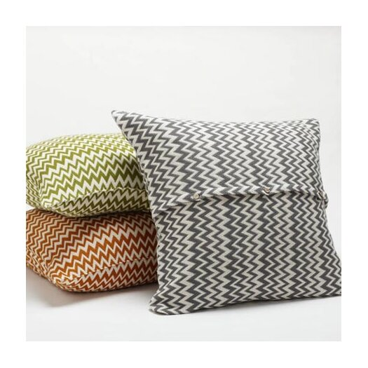 Coyuchi Zigzag Throw Pillow