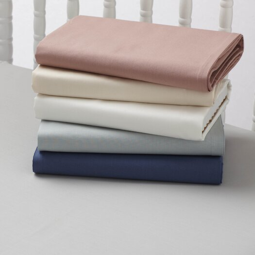 Coyuchi Percale 220 Crib Fitted Sheet