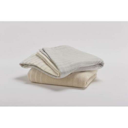 Coyuchi Ombre Cotton and Wool Throw