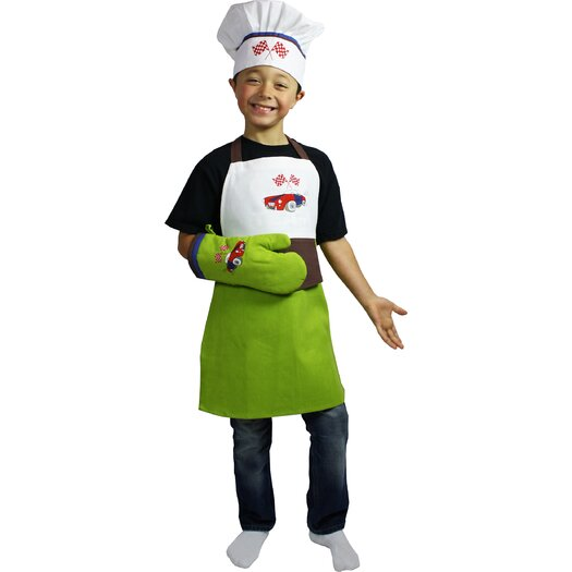 MU Kitchen Mini 3 Piece Apron Set