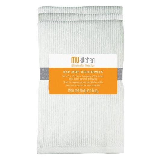"""MU Kitchen 17"""" x 25.25"""" Bar Mop Dishtowel"""