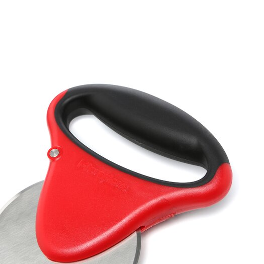 Microplane Pizza Cutter in Red