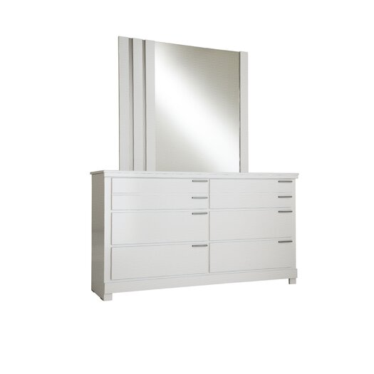 Standard Furniture Metropolitan Rectangular Dresser Mirror