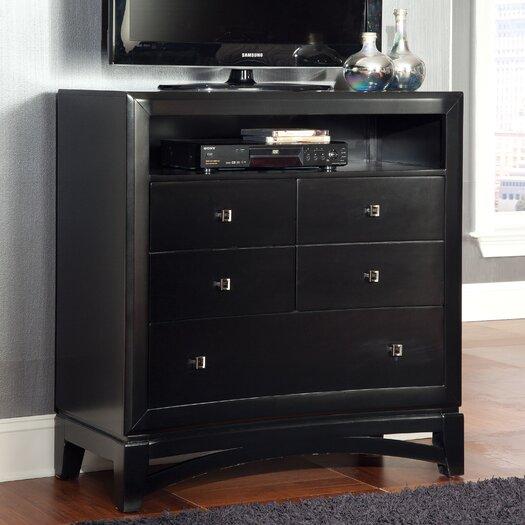 Standard Furniture Memphis 5 Drawer Media Chest