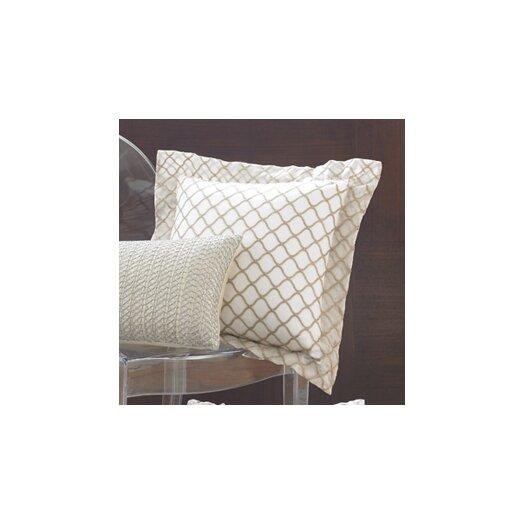 Wildcat Territory Ina Scallop Silk Organza Decorative Pillow