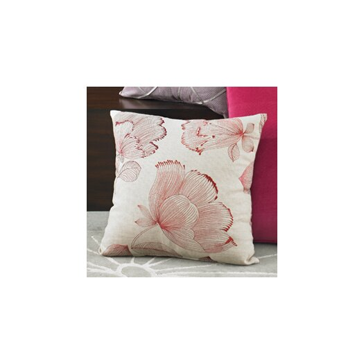 Wildcat Territory Narcissus Embroidery Decorative Pillow