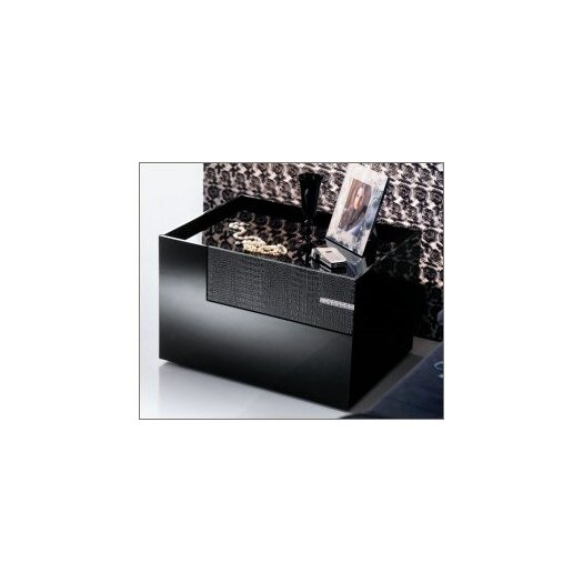 Diamond 2 Drawer Nightstand