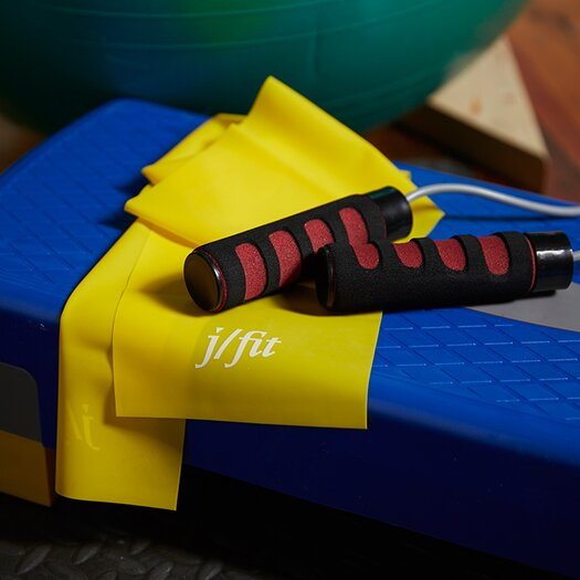 J Fit Cushioned Grip Jump Rope