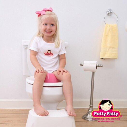 Mom Innovations The Potty Patty Potty Seat II in Pink