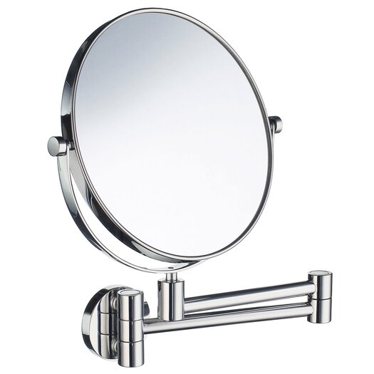 Smedbo Outline Five-Time Magnifying Shaving / Makeup Mirror