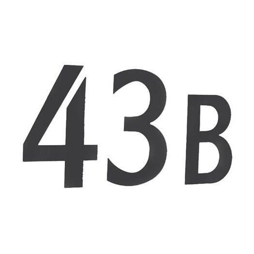 Smedbo Beslagsboden Mailbox Lettering Number