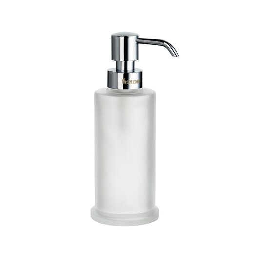 Smedbo Outline Pillar Glass Soap Dispenser