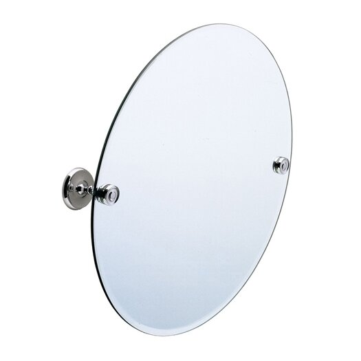 Smedbo Villa Round Beveled Edge Mirror