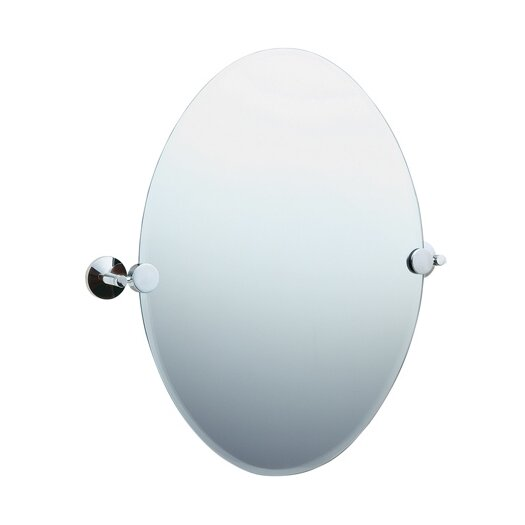 Smedbo Studio Oval Beveled Edge Mirror