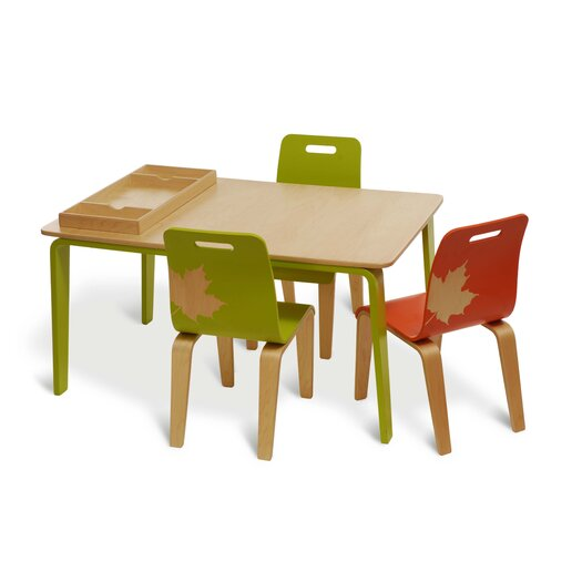 Iglooplay Kid's Craft Table and Chair
