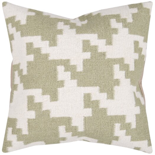 Surya Striking Houndstooth Pillow