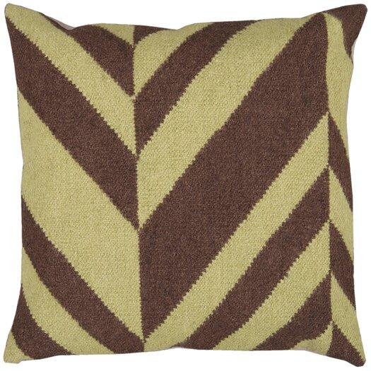 Surya Slanted Stripe Pillow