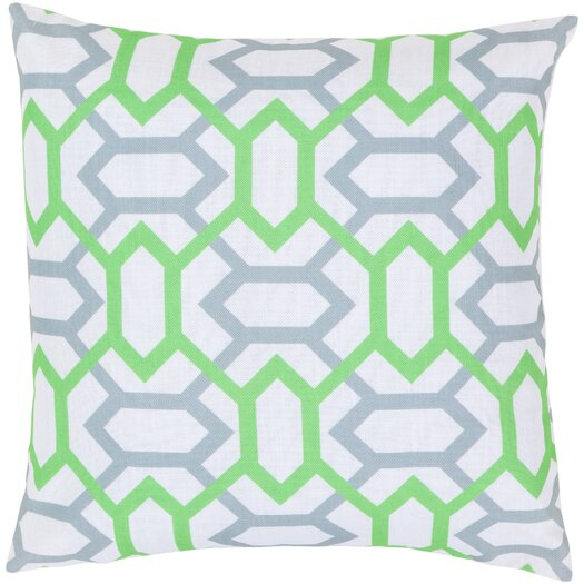 Surya Connect the Diamonds Pillow