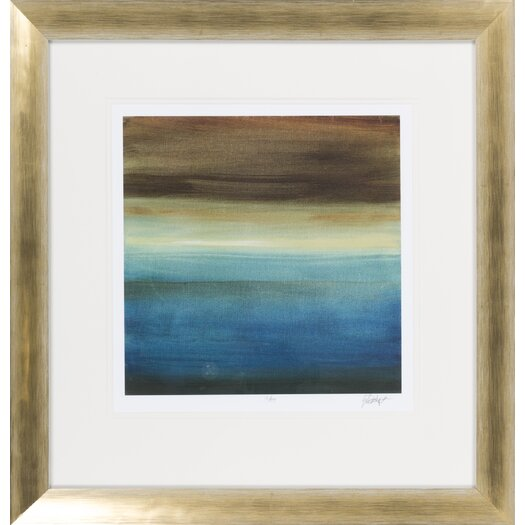 Surya Abstract Horizon III by Vision Studio Framed Graphic Art