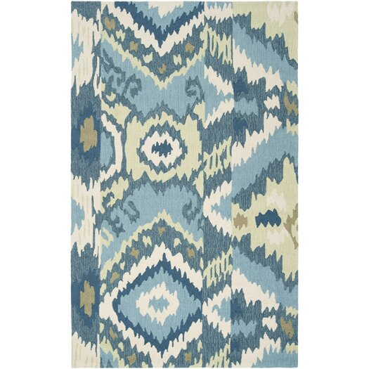 Surya Brentwood Teal Blue Area Rug