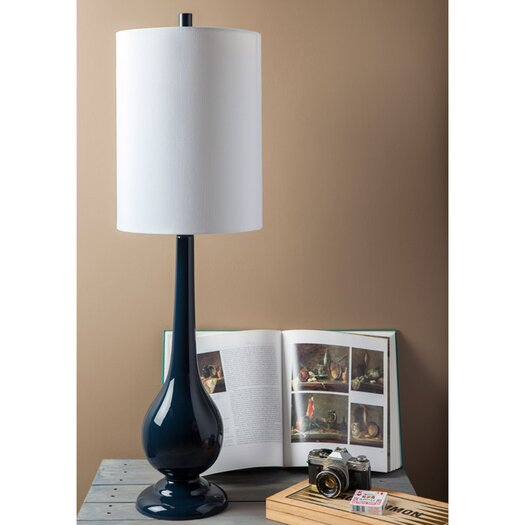 """Surya Warren 41.5"""" H Table Lamp with Drum Shade"""