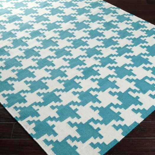 Surya Frontier Teal/Ivory Area Rug