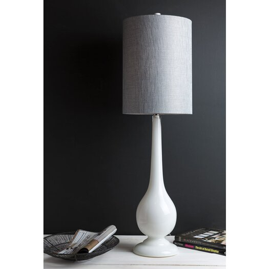 "Surya Macawl 41.5"" H Table Lamp with Drum Shade"