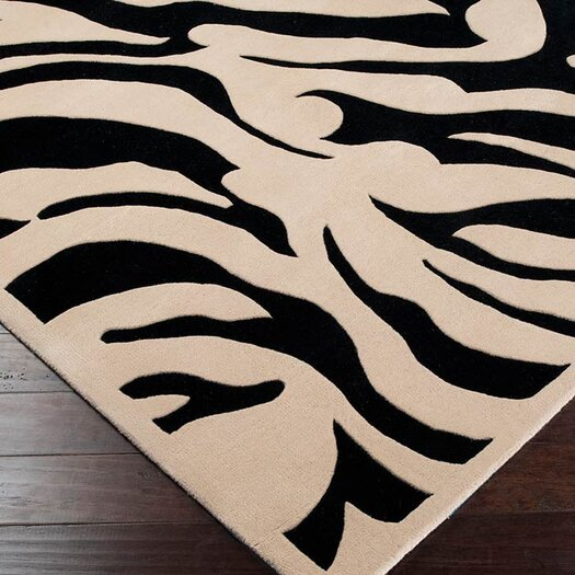 Surya Goa Black Area Rug