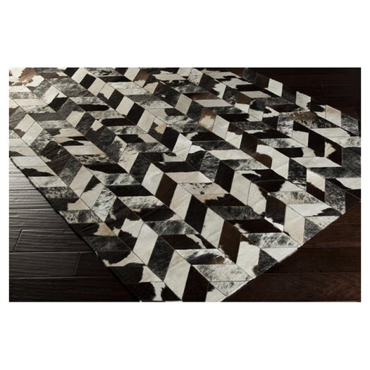 Surya Appalachian Black/Gray Area Rug