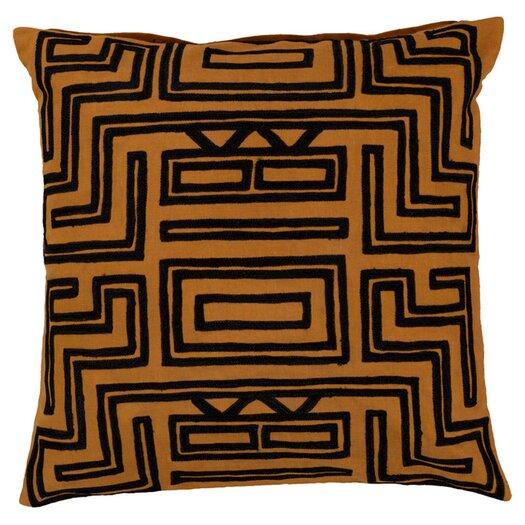 Surya Mesmerizing Maze Throw Pillow
