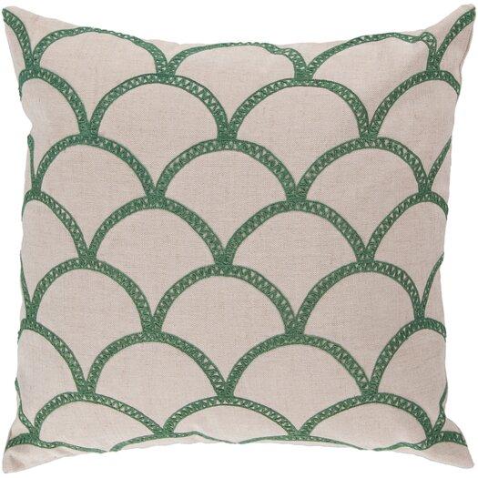 Surya Overlapping Oval Throw Pillow